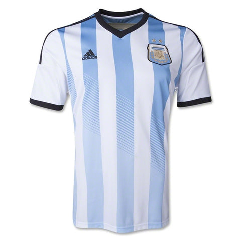 Argentina Jersey Home Youth And Adult 2014 Boys L, Argentina Soccer Jersey - Adidas, G2G Sport Chicago