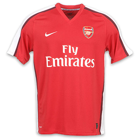 Arsenal Jersey Home  2008-2009 , Arsenal Soccer jersey - Nike, G2G Sport Chicago