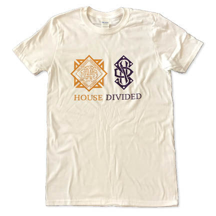 Gildan White House Divided Short Sleeved T-shirt
