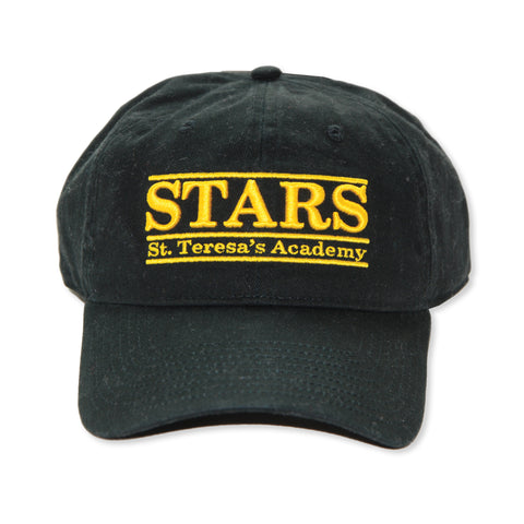 The Game Stars Black Canvas Baseball Hat