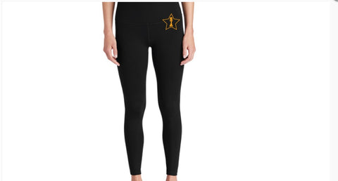 STA Star High Rise Black Legging