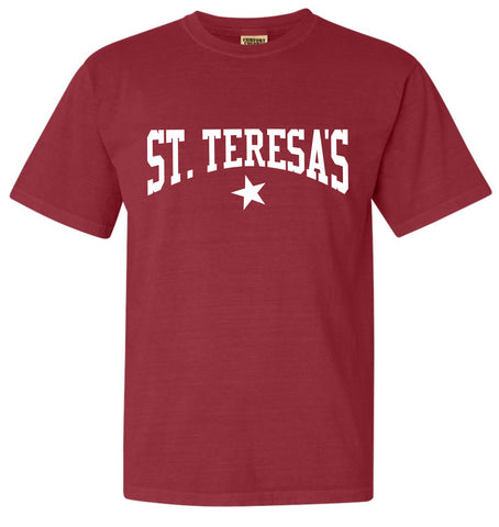 St. Teresa's Star Crimson T-Shirt