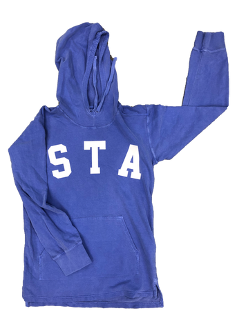 Comfort Colors Flo Blue STA Hooded Pullover