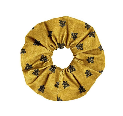 Gold Intertwined STA Spirit Scrunchie