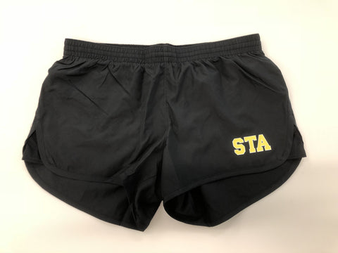 STA Black Running Shorts