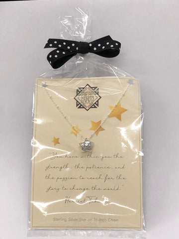 """Reach For The Stars"" Charm Necklace"