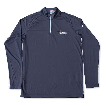 Men's St. Teresa's Academy Black Under Armour Quarter Zip