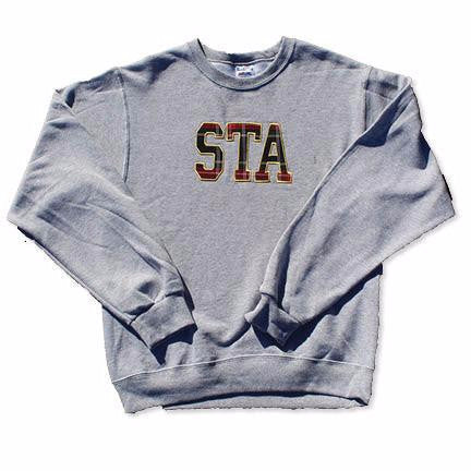 STA Uniform Applique Grey Sweatshirt