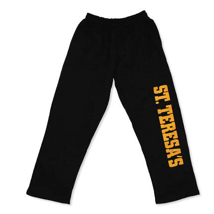 Youth St. Teresa's Black Sweatpants