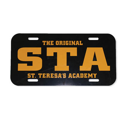 The Original STA Front License Plate Cover