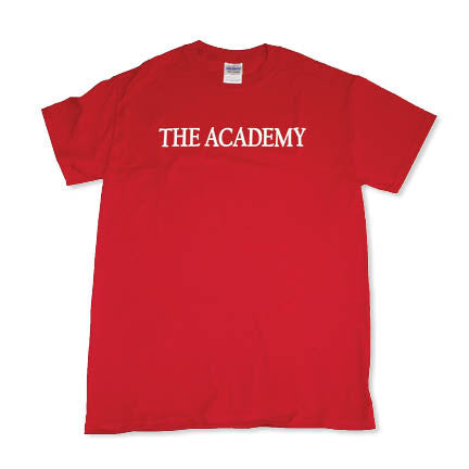 Sale The Academy Red Short Sleeved T-shirt