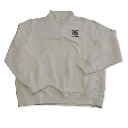 Alumna St. Teresa's Academy with Seal White Quarter Zip