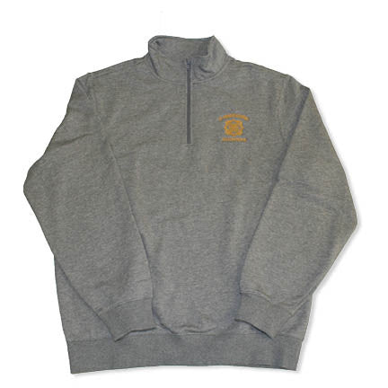 Alumna St. Teresa's Academy with Seal Grey Quarter Zip