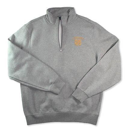 Uniform - St. Teresa's Academy with Seal Grey Quarter Zip