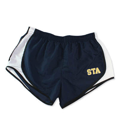 Sport-Tek STA Navy Running Shorts