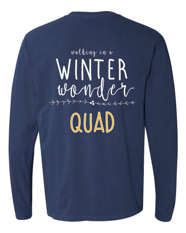 STA Winter Quad Christmas T-Shirt