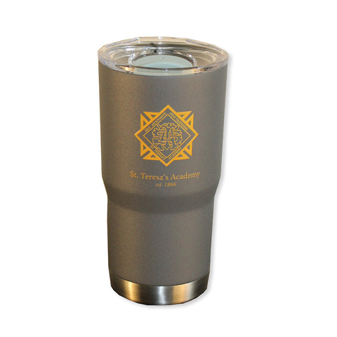STA 16 oz Stainless Steel Insulated Tumbler in Gray