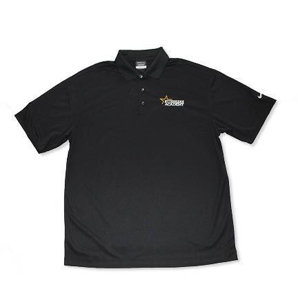 Men's Nike Golf Black Polo
