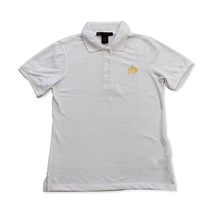 Uniform - STA White Short Sleeved Polo