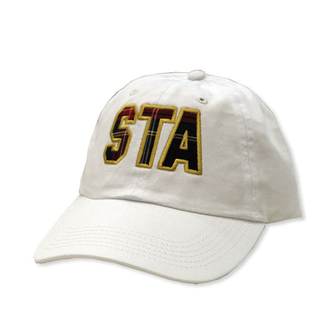 Uniform Plaid STA Applique Hat