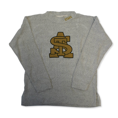 STA Intertwined Logo Applique With Embroidered Stars Terry Crew