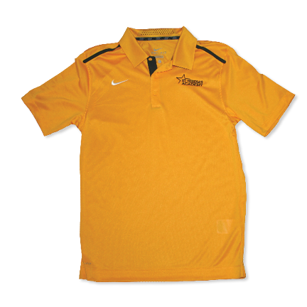 Men's Nike Gold Golf Polo
