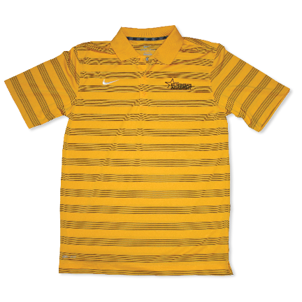Men's Nike Striped Golf Polo