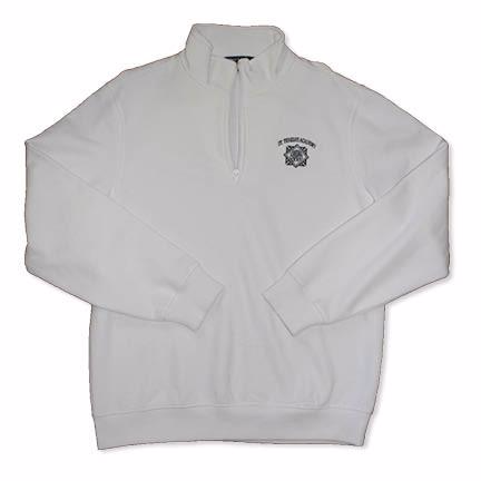 Uniform - St. Teresa's Academy with Seal White Quarter Zip