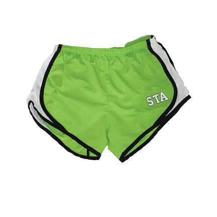 Boxercraft STA Lime Running Shorts