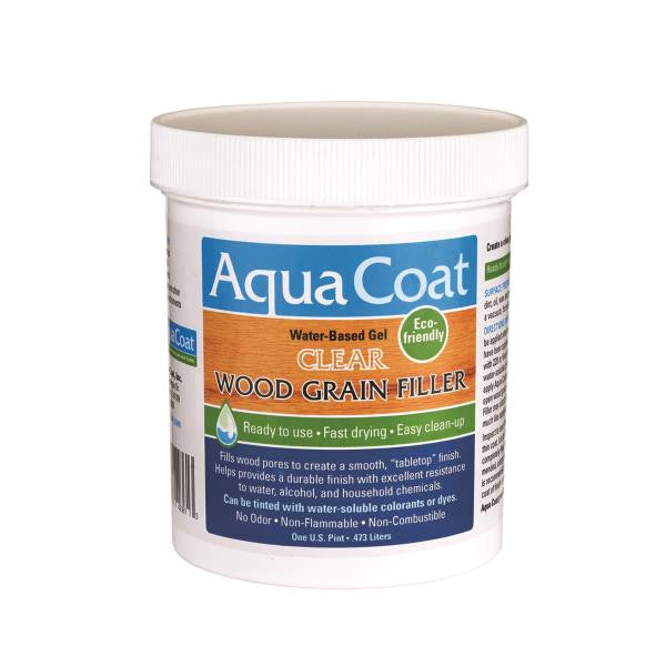 Aqua Coat Wood Grain Filler