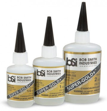 Bob Smith Ind CA Glue Super Gold+ Medium Gap Filling