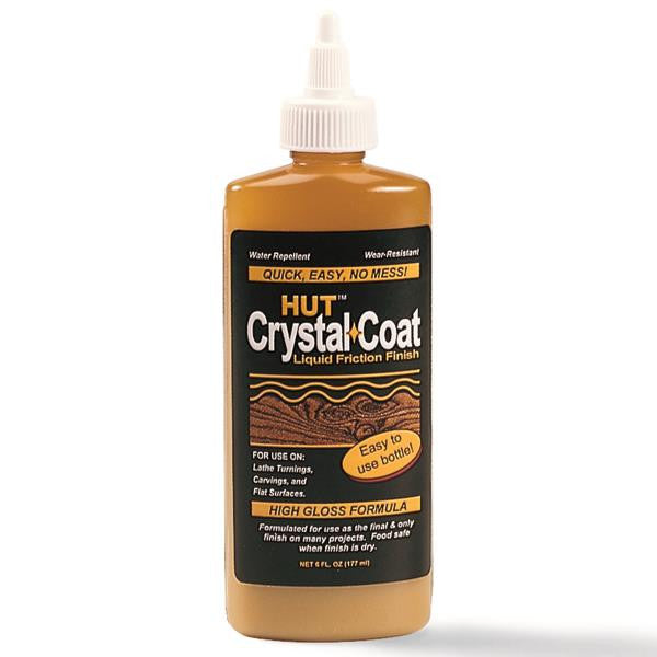 HUT Crystal Coat Liquid Friction Polish 4 Oz.