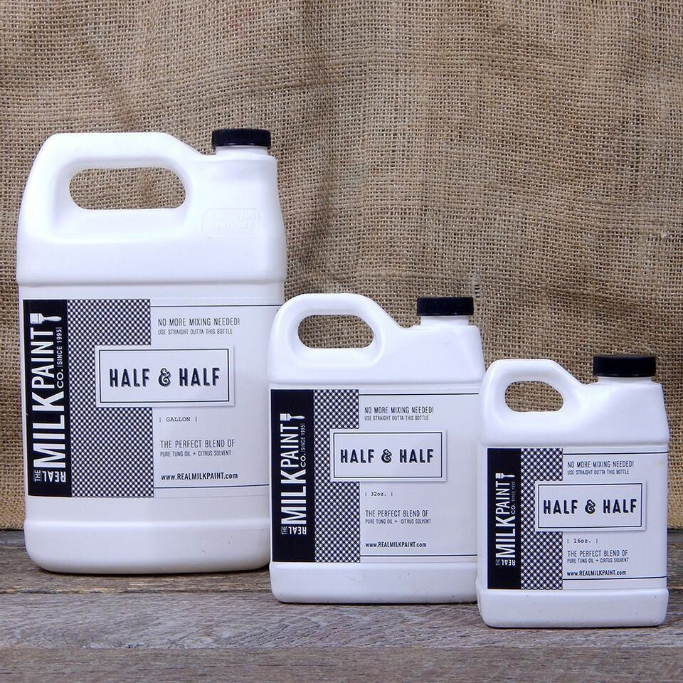 Real Milk Paint Half & Half 32oz