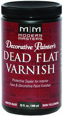 Modern Masters Dead Flat Varnish 32 Oz.