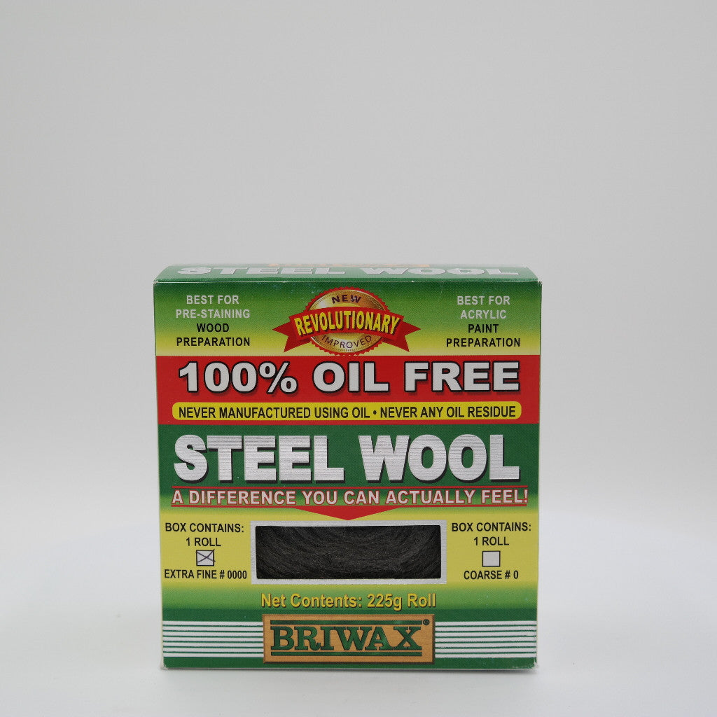 0000 Steel Wool Wax: West Michigan Finishes