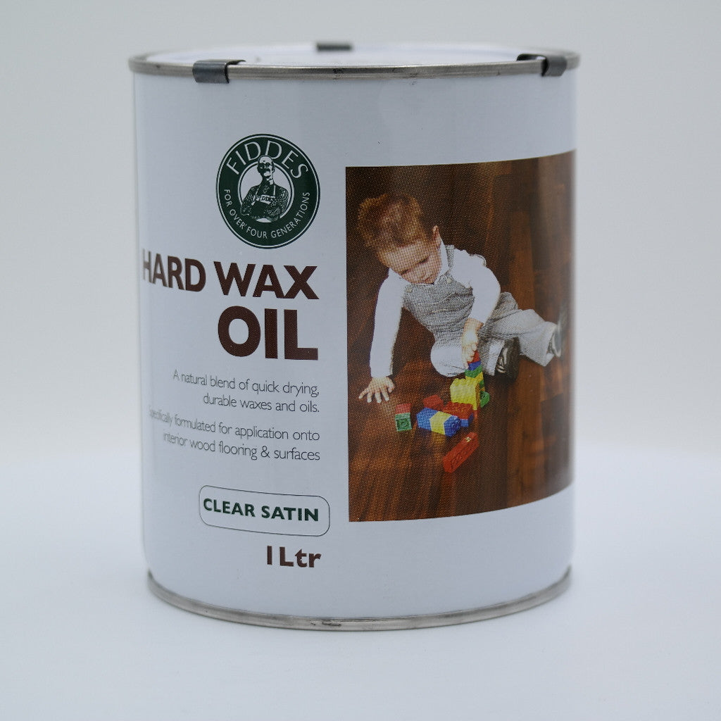 Fiddes Hard Wax Oil Clear Satin