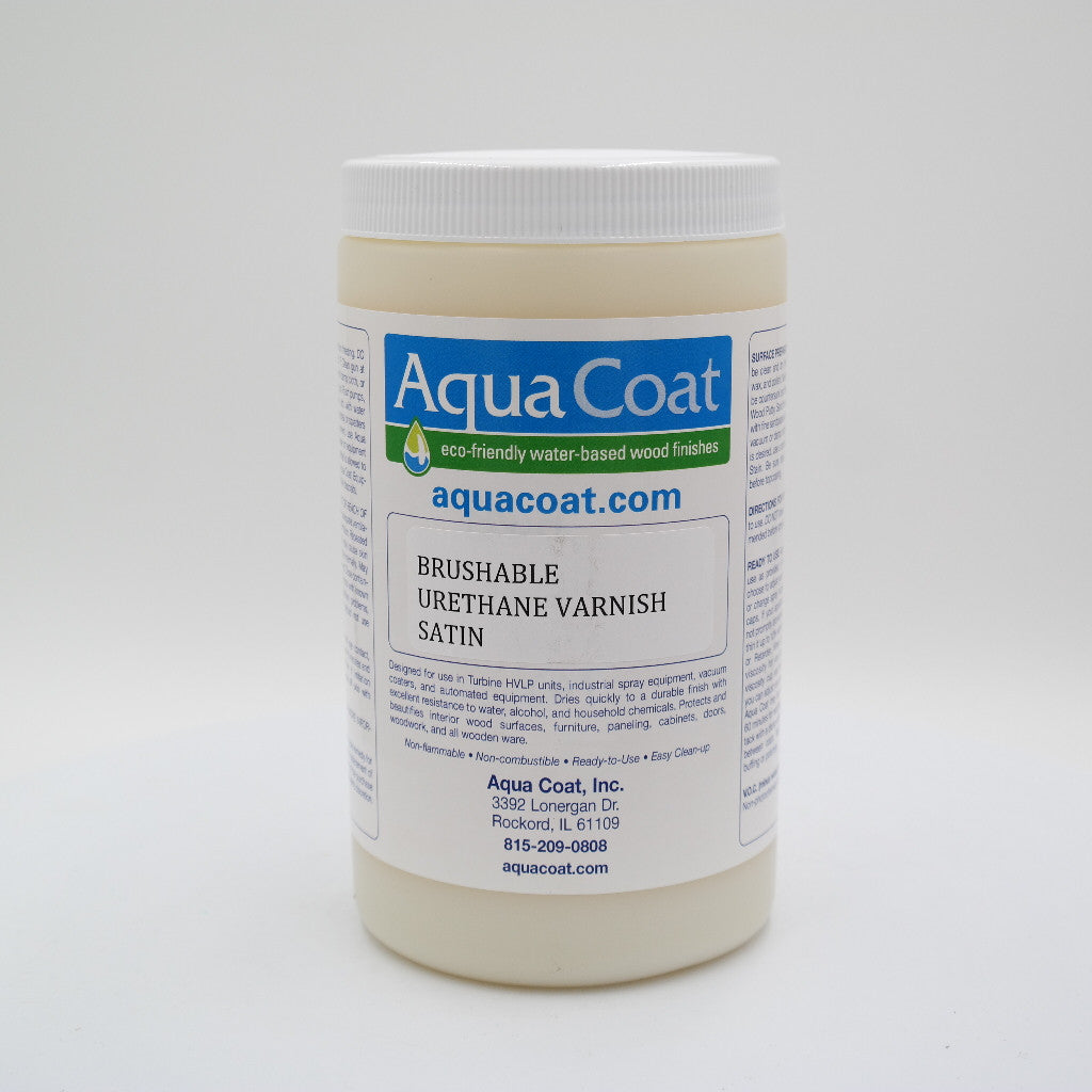 Aqua Coat Brush-able Urethane Varnish