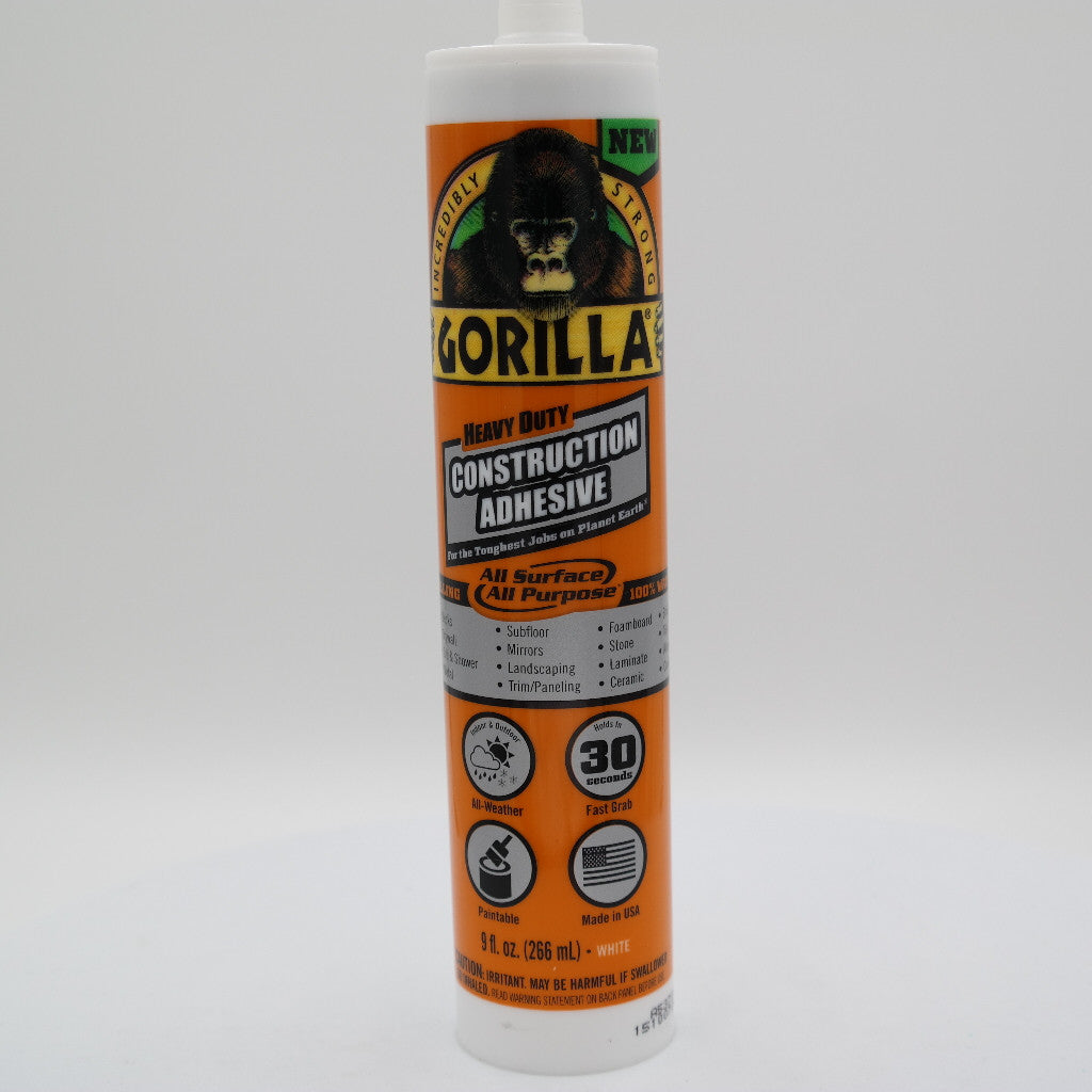 Gorilla Glue Heavy Duty Construction Adhesive