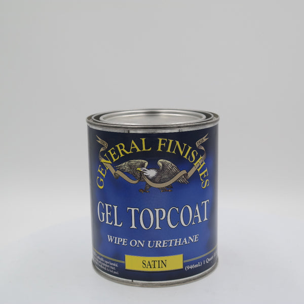General Finishes Gel Stain Pint Or Furniture Oil Topcoat: General Finishes Gel Top Coat