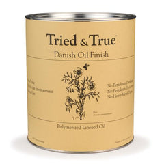 Tried & True Danish Oil Finish