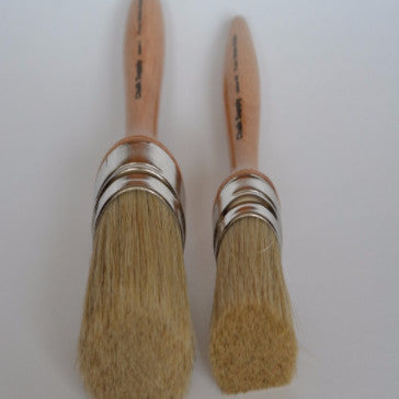 Chalk Supply Stubby Handle Wax Brush