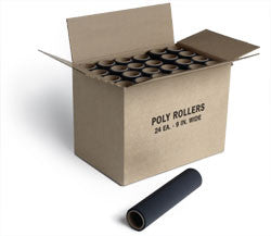 "Jen 9"" Poly-Roller (24 count)"