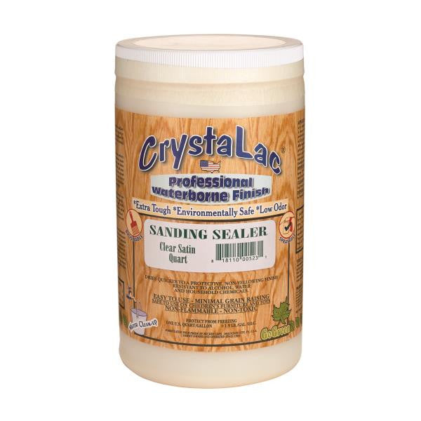 CrystaLac Sanding Sealer - Clear Satin (Quart)