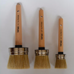 Chalk Supply Round Wax Brush