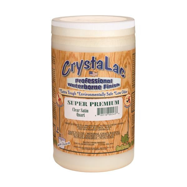 CrystaLac Super Premium Clear Satin (Quart)