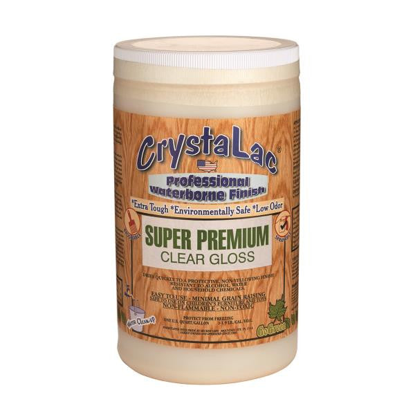 CrystaLac Super Premium Clear Gloss (Quart)