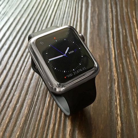 Space grey Apple watch case - Decouart