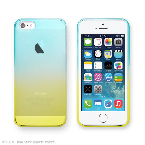 Mint gradation case for iPhone 6 / 6s / 6 Plus / 6s Plus / 5 / 5s - Decouart