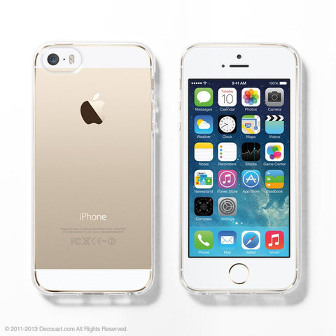 Soft Clear case for iPhone 6 / 6s / 5 / 5s / 5C / 4s - Decouart