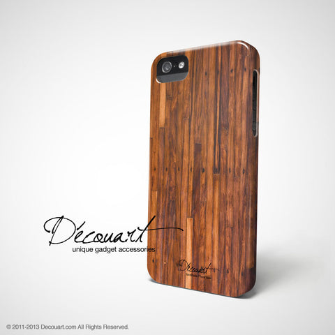 Wood grain iPhone 7 case, iPhone 7 Plus case S003 - Decouart - 2